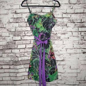 Edme & Esyllte Anthropologie Tropical Dress